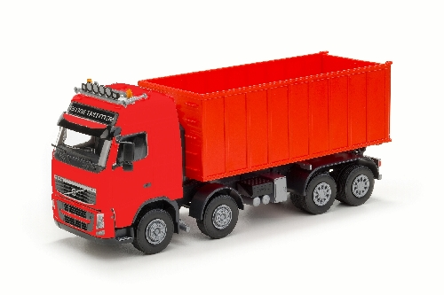 Volvo FH met Afzetcontainer groot - Rood