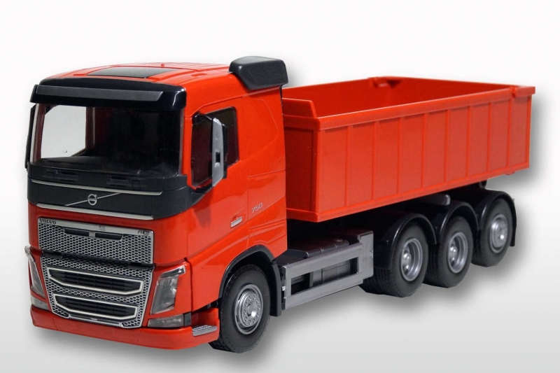 Volvo FH met Afzetcontainer klein - Rood