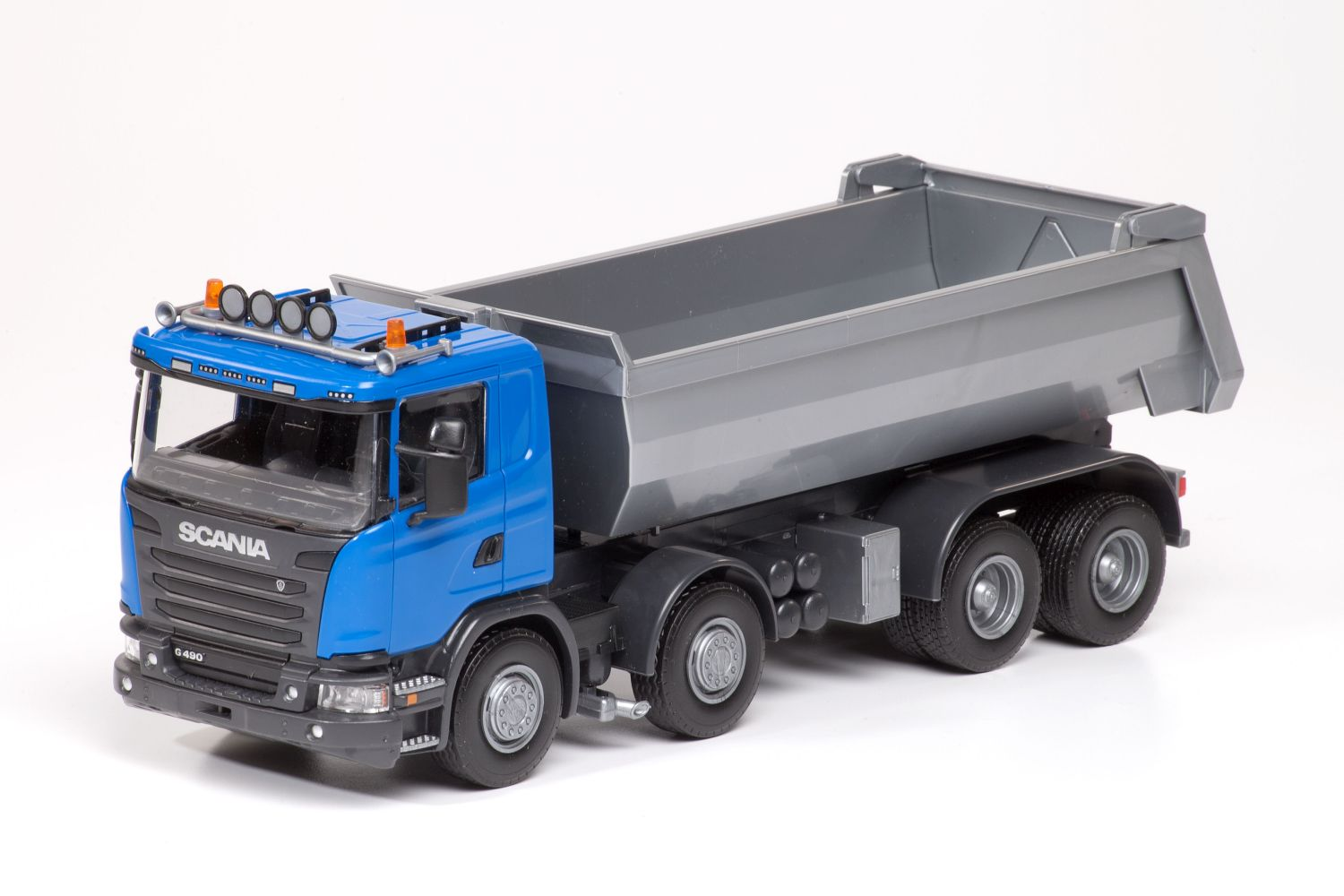 Scania G490 4-As Kieper - Blauw