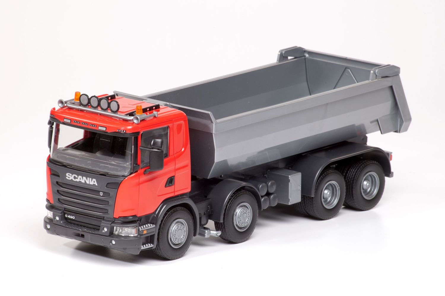 Scania G490 4-As Kieper - Rood