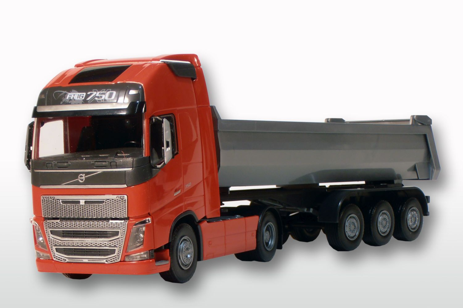 Volvo FH (New) 2-As Rood met Grijze 3-As Kieper